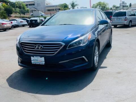 2016 Hyundai Sonata for sale at MotorMax in Lemon Grove CA