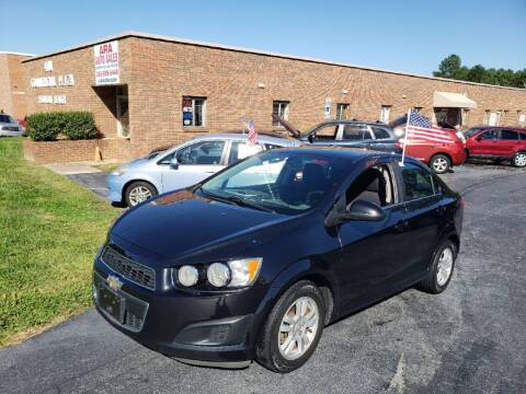2015 Chevrolet Sonic for sale at ARA Auto Sales in Winston-Salem NC