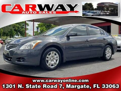 2012 Nissan Altima for sale at CARWAY Auto Sales in Margate FL