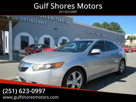 2012 Acura TSX for sale at Gulf Shores Motors in Gulf Shores AL