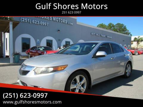 2012 Acura TSX for sale at Gulf Shores Motors in Gulf Shores AL