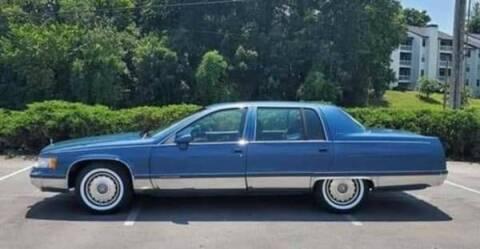 1993 Cadillac Fleetwood for sale at Classic Car Deals in Cadillac MI