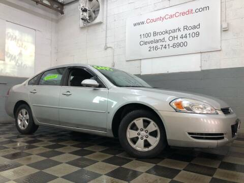 2008 Chevrolet Impala for sale at County Car Credit in Cleveland OH