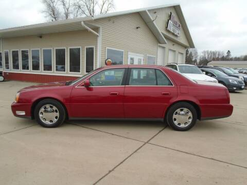 2001 Cadillac DeVille for sale at Milaca Motors in Milaca MN