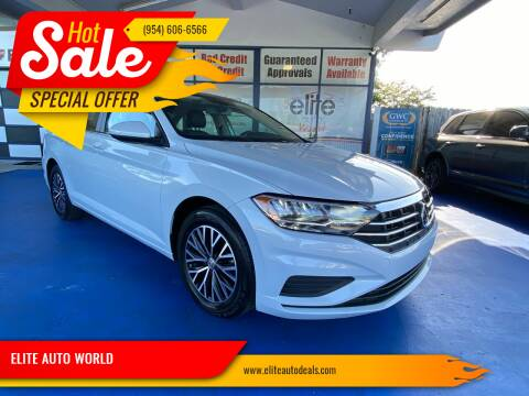 2019 Volkswagen Jetta for sale at ELITE AUTO WORLD in Fort Lauderdale FL