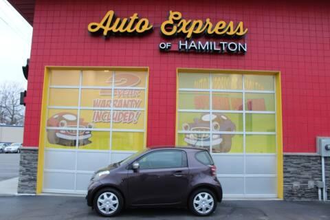 2014 Scion iQ for sale at AUTO EXPRESS OF HAMILTON LLC in Hamilton OH
