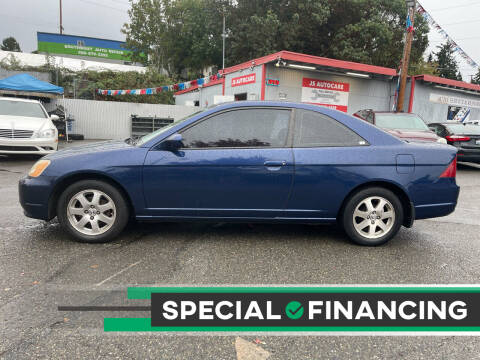 2003 Honda Civic for sale at Valley Sports Cars in Des Moines WA