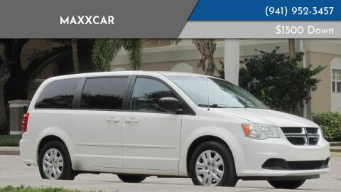 2011 Dodge Grand Caravan for sale at MaxxCar in Sarasota FL