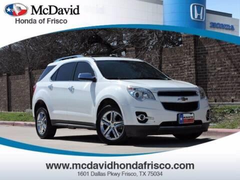 2014 Chevrolet Equinox for sale at DAVID McDAVID HONDA OF IRVING in Irving TX