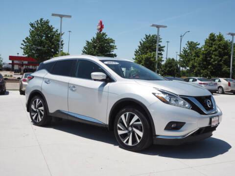 2015 Nissan Murano for sale at SIMOTES MOTORS in Minooka IL