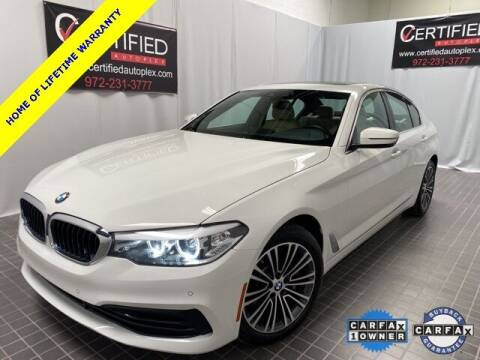 2020 BMW 5 Series for sale at CERTIFIED AUTOPLEX INC in Dallas TX