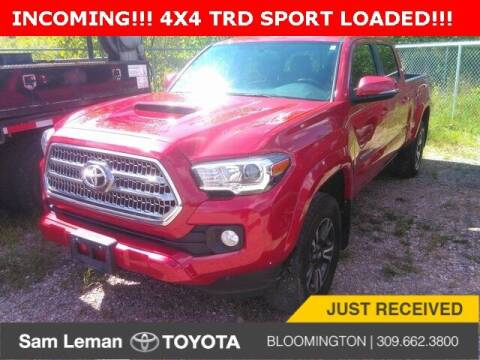 2017 Toyota Tacoma for sale at Sam Leman Toyota Bloomington in Bloomington IL