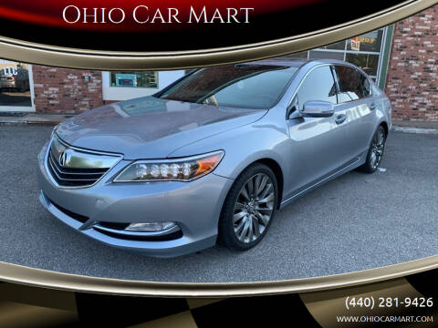 2016 Acura RLX for sale at Ohio Car Mart in Elyria OH