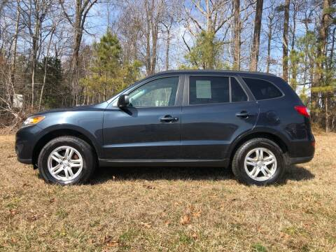 2012 Hyundai Santa Fe for sale at Harris Motors Inc in Saluda VA