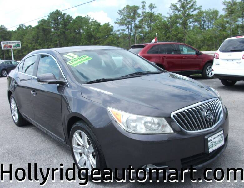 2013 Buick LaCrosse for sale at Holly Ridge Auto Mart in Holly Ridge NC