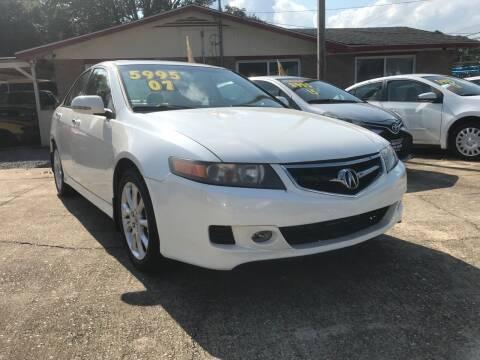 2007 Acura TSX for sale at Port City Auto Sales in Baton Rouge LA
