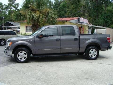 2013 Ford F-150 for sale at VANS CARS AND TRUCKS in Brooksville FL