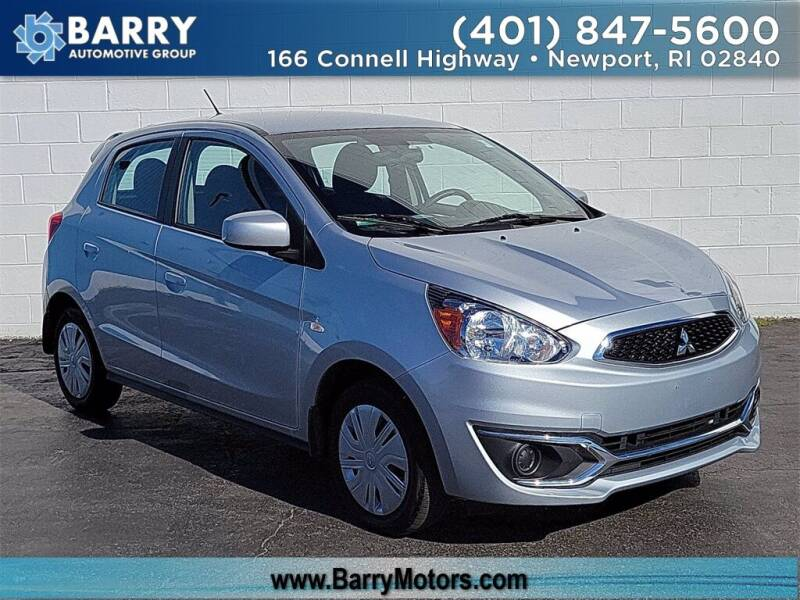 2018 Mitsubishi Mirage for sale at BARRYS Auto Group Inc in Newport RI