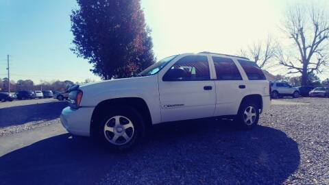 2002 Chevrolet TrailBlazer for sale at Ace Auto Sales - $1200 DOWN PAYMENTS in Fyffe AL