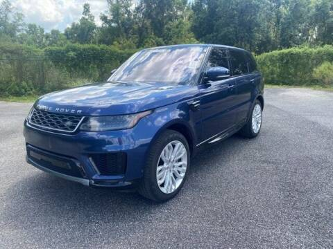 2018 Land Rover Range Rover Sport for sale at JOE BULLARD USED CARS in Mobile AL
