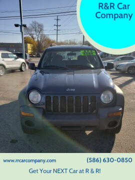 2003 Jeep Liberty for sale at R&R Car Company in Mount Clemens MI