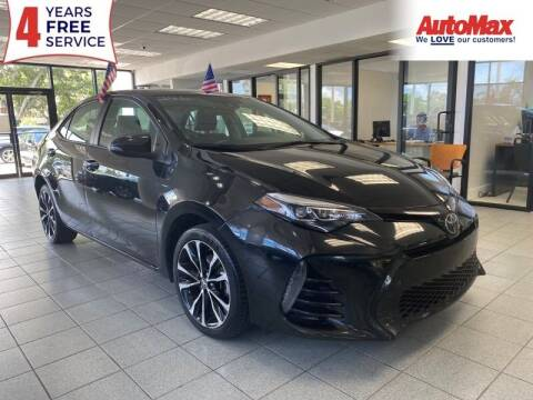 2018 Toyota Corolla for sale at Auto Max in Hollywood FL