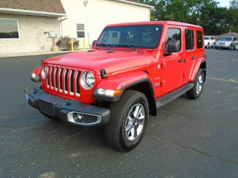 2018 Jeep Wrangler Unlimited for sale at Ritchie Auto Sales in Middlebury IN
