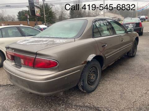 2002 Buick Century for sale at KRIS RADIO QUALITY KARS INC in Mansfield OH