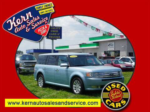 2009 Ford Flex for sale at Kern Auto Sales & Service LLC in Chelsea MI