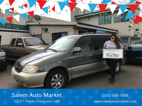 2005 Kia Sedona for sale at Salem Auto Market in Salem OR