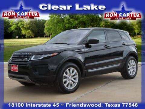 2018 Land Rover Range Rover Evoque for sale at Ron Carter  Clear Lake Used Cars in Houston TX