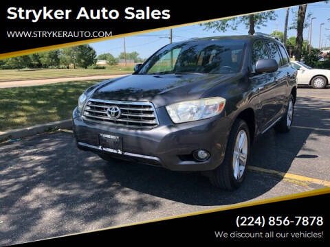 2008 Toyota Highlander for sale at Stryker Auto Sales in South Elgin IL