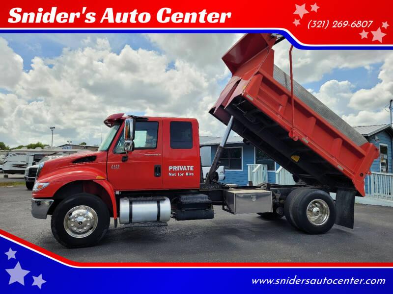 2007 International DuraStar 4400 for sale at Snider's Auto Center in Titusville FL