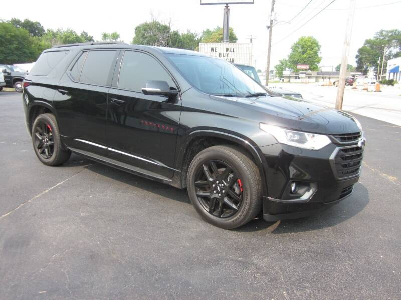 2019 Chevrolet Traverse for sale at JANSEN'S AUTO SALES MIDWEST TOPPERS & ACCESSORIES in Effingham IL