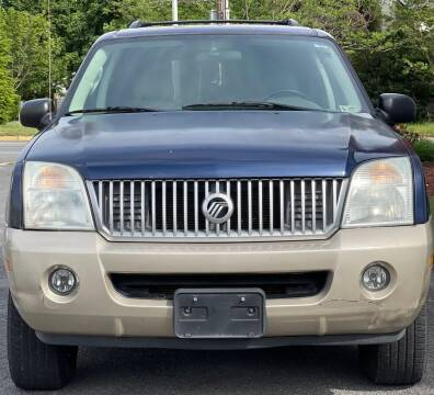2004 Mercury Mountaineer for sale at MZ Auto in Winchester VA