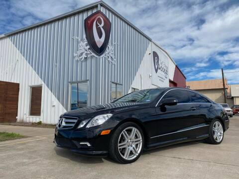 2010 Mercedes-Benz E-Class for sale at Barrett Auto Gallery in San Juan TX