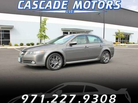2007 Acura TL for sale at Cascade Motors in Portland OR