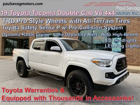 2019 Toyota Tacoma for sale at Paul Sevag Motors Inc in West Chester PA