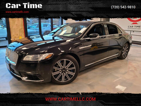 2017 Lincoln Continental for sale at Car Time in Denver CO