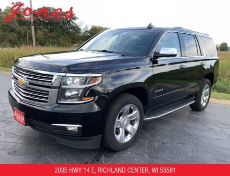 2016 Chevrolet Tahoe for sale at Jones Chevrolet Buick Cadillac in Richland Center WI
