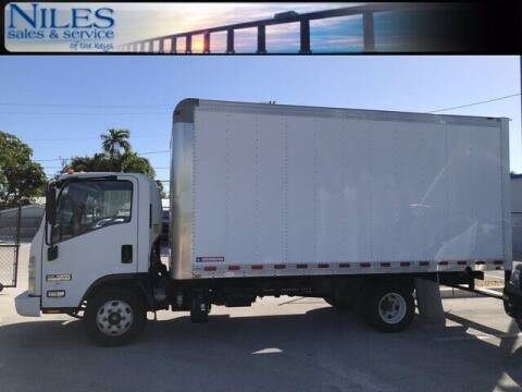 2014 Isuzu NPR DSL REG AT ECO-MAX for sale at Niles Sales and Service in Key West FL