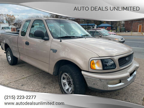 1998 Ford F-250 for sale at AUTO DEALS UNLIMITED in Philadelphia PA