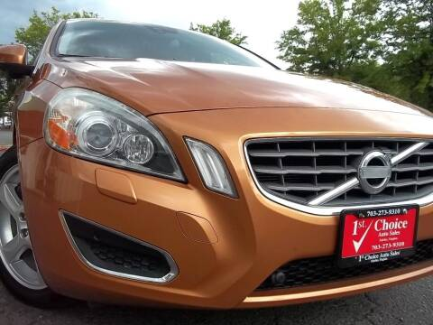 2012 Volvo S60 for sale at 1st Choice Auto Sales in Fairfax VA
