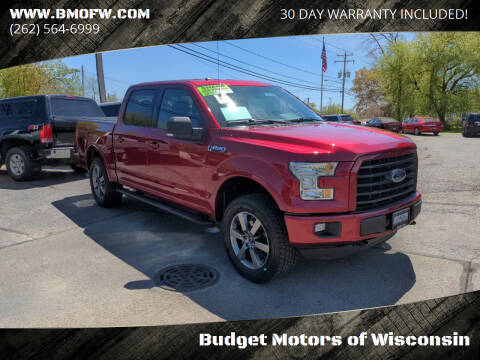 2016 Ford F-150 for sale at Budget Motors of Wisconsin in Racine WI
