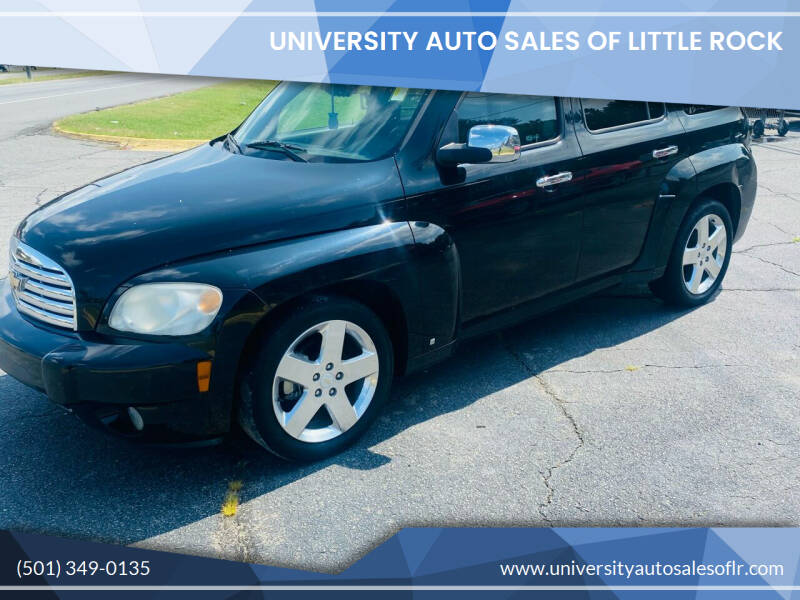 2007 Chevrolet HHR for sale at University Auto Sales of Little Rock in Little Rock AR