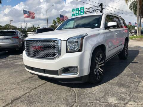 2017 GMC Yukon for sale at Gtr Motors in Fort Lauderdale FL