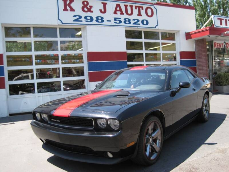2013 Dodge Challenger for sale at K & J Auto Rent 2 Own in Bountiful UT