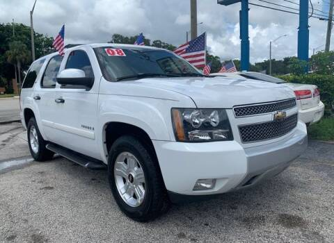 2008 Chevrolet Tahoe for sale at AUTO PROVIDER in Fort Lauderdale FL