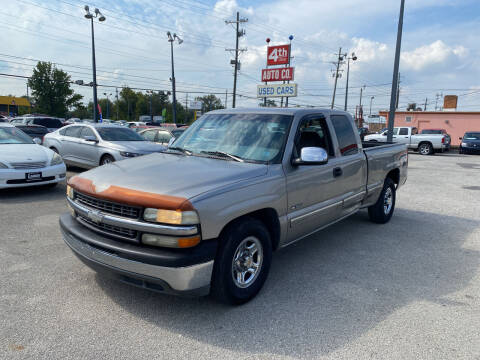 2000 Chevrolet Silverado 1500 for sale at 4th Street Auto in Louisville KY
