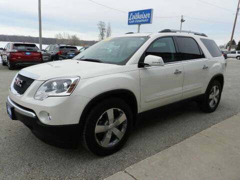 2011 GMC Acadia for sale at Leitheiser Car Company in West Bend WI
